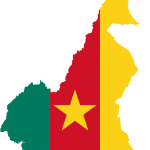 cameroon-flag-map